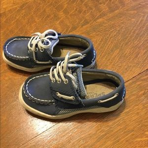 Kids Sperry Top Sider shoes